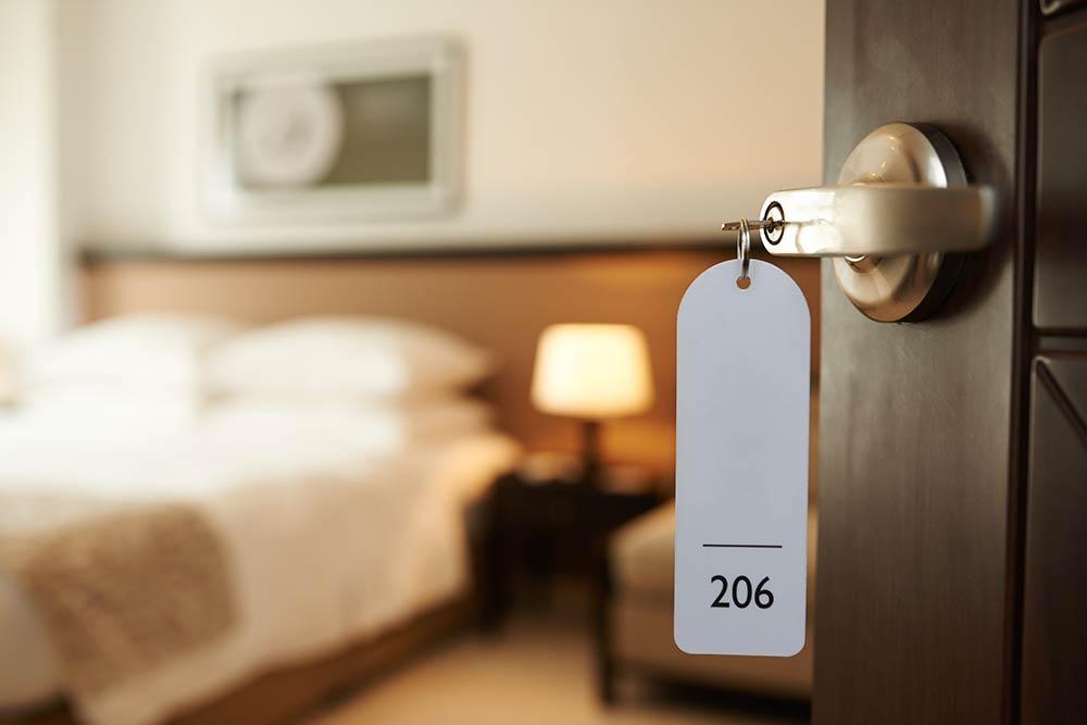 porte clef chambre hotel